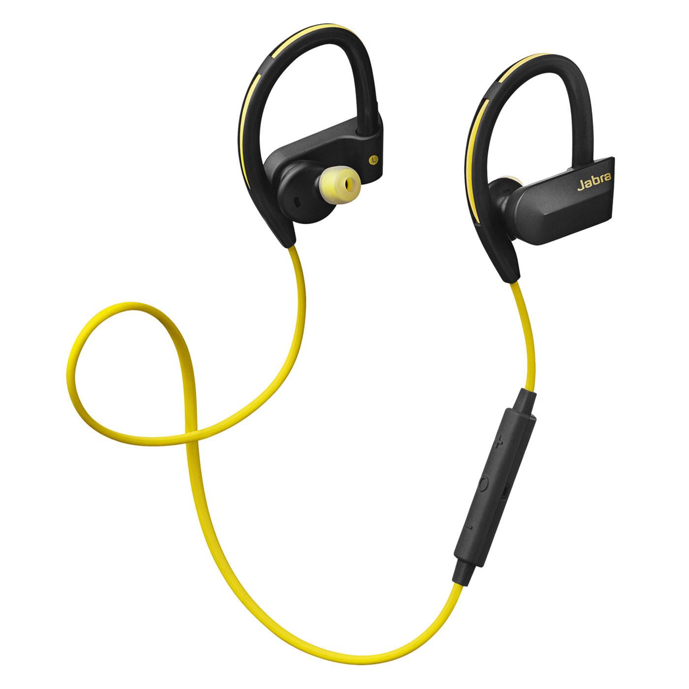 Jabra Sport Pace Wireless Headphones: Wireless Earbuds - Pearlblue Tech